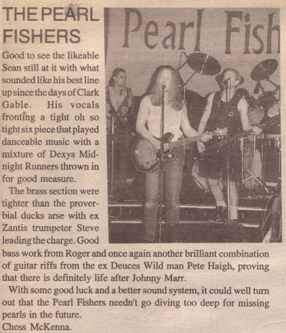 Pearl Fishers In The Blackpool Evening Gazette